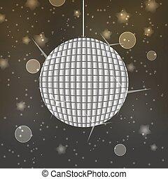 palla, eps10, astratto, discoteca, bokeh, fondo, baluginante