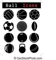palla, icone