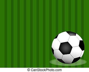 palla, spazio, football, text., isolato, /, campo, fondo, calcio, tuo