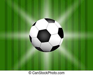 palla, spazio, text., football, football, isolato, campo, fondo, calcio, tuo