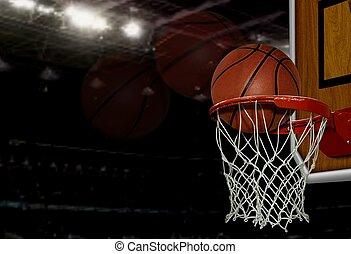 pallacanestro, colpo