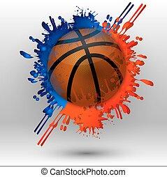 pallacanestro, macchie
