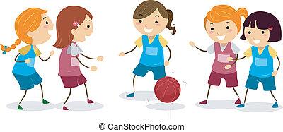 pallacanestro, ragazze