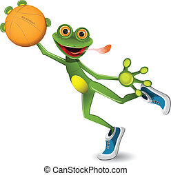 pallacanestro, rana