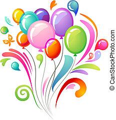 palloni, schizzo, colorito