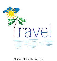 palma, sole, viaggiare