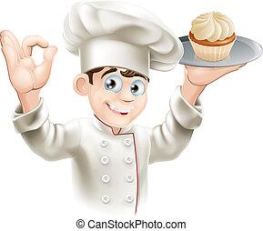 panettiere, cupcake