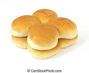 panini dolci, hamburger