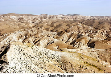 panorama, elijah, deserto