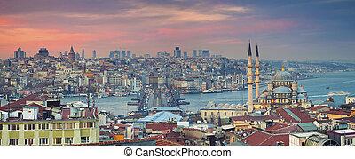 panorama., istanbul