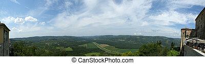 panoramico, paesaggio