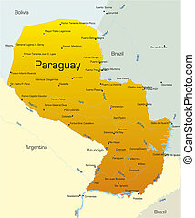 paraguay, paese