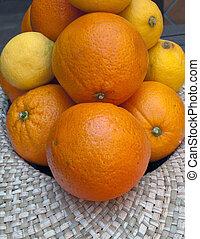 parecchi, arance, limoni