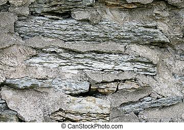 parete, argillite