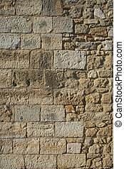parete, castello, storico