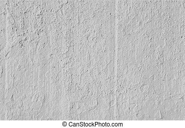parete, concreto, vettore, fondo, grungy, bianco