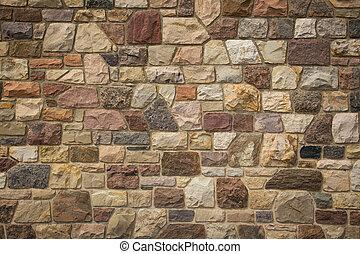 parete, fieldstone