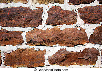 parete, fieldstone, fondo
