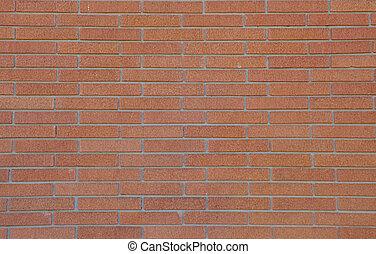 parete, fondo, abbronzatura, mattone