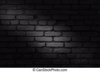 parete, fondo., mattone, vecchio, struttura