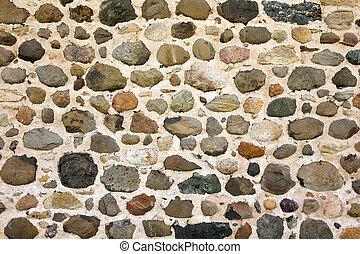parete, fondo, pietra, campo