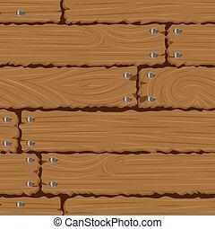 parete, fondo, struttura, legno, seamless