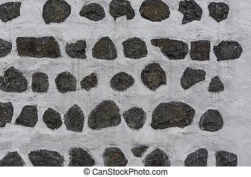 parete, grigio, pietra, fondo, bianco