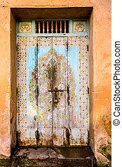 parete, legno, foto, fondo, pietra, vecchio, porta