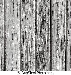 parete legno, vernice bianca