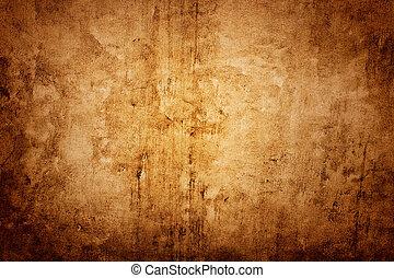parete, marrone, struttura