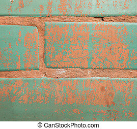 parete, mattone, fondo, struttura, colorito