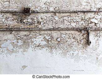 parete, mattone, grunge, wiring.