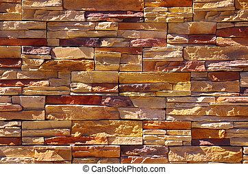 parete, pietra, argillite