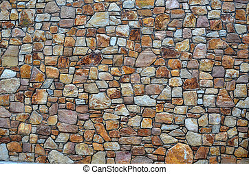 parete, pietre, pietra, naturale