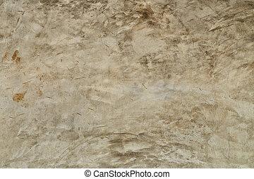 parete, primo piano, cemento