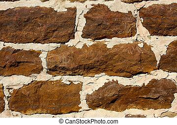 parete, sanstone, fondo