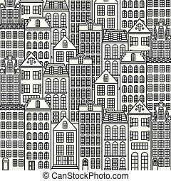 parigi, architettura, francia