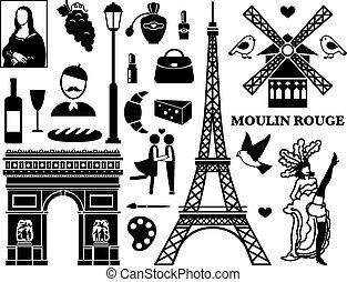 parigi, icone