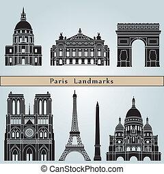 parigi, limiti, monumenti