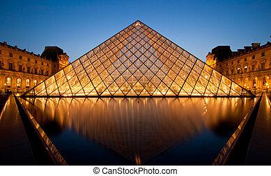 parigi, museo, louvre