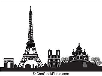 parigi, orizzonte