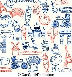 parigi, scheda, francia
