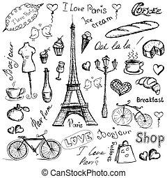 parigi, symbols.
