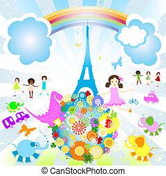 parigi, vacanza estate