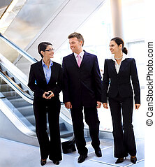parlare, businesspeople