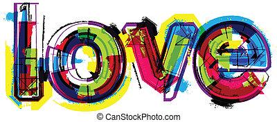 parola, amore, artistico