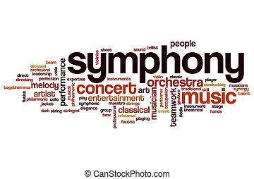 parola, nuvola, sinfonia
