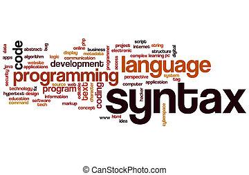 parola, nuvola, syntax