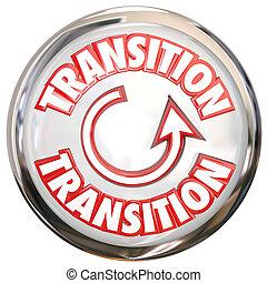 parola, processo, bottone, transizione, bianco, icona, cambiamento, ciclo