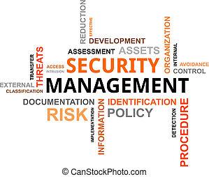 parola, sicurezza, amministrazione, -, nuvola
